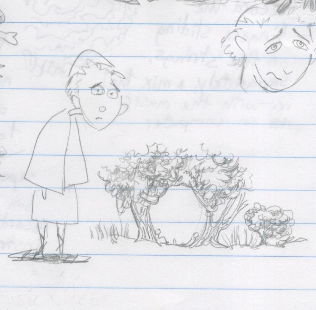 perplexed monk