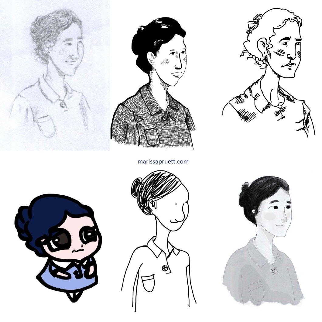 woman in styles website