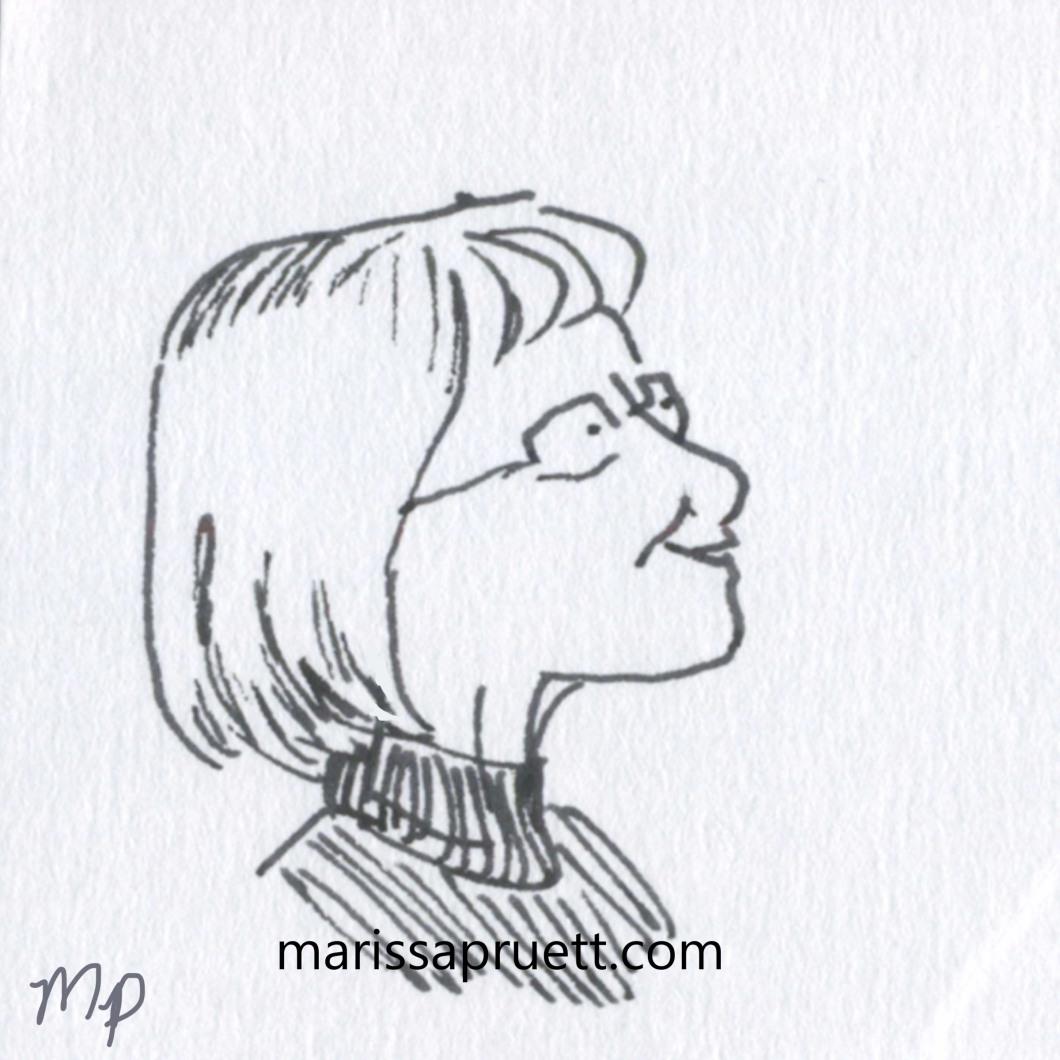 librarian portrait