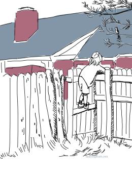 girl on fence3