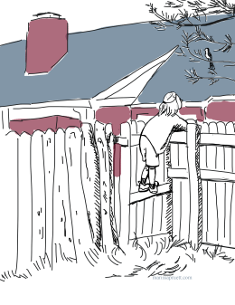 girl on fence3