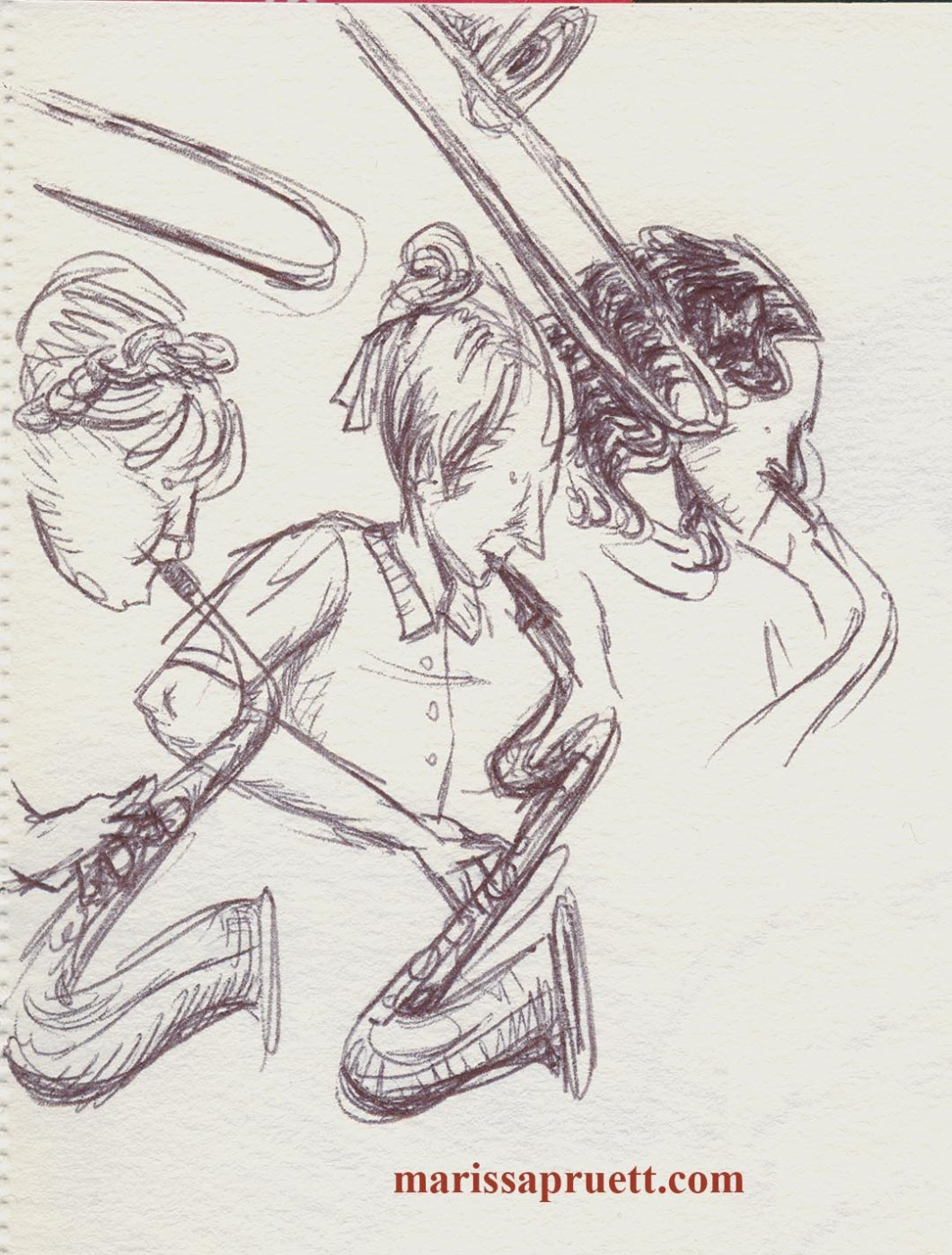 sax and bones