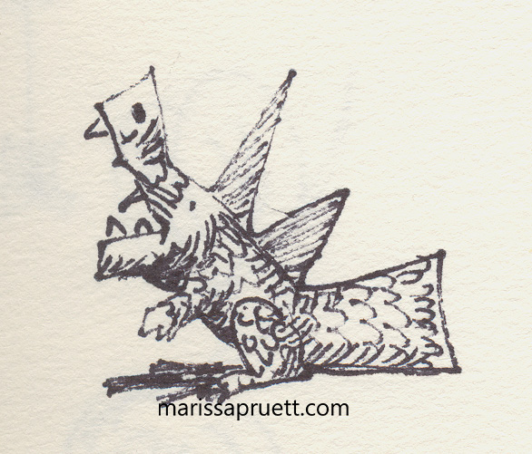 square midget dragon
